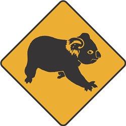 WARNING KOALA