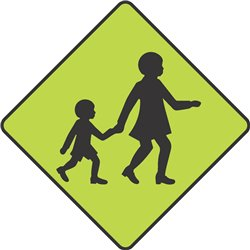 WARNING CHILDREN CROSSING