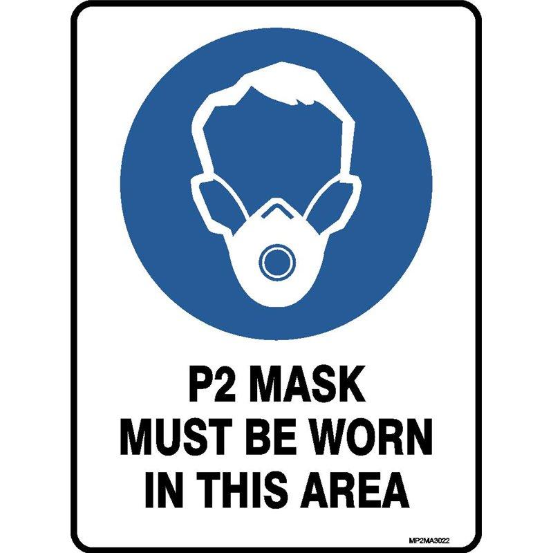 P2 MASKS MUST BE WORN