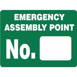EMERGENCY ASSEMB. POINT NUMBER