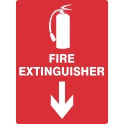 FIRE EXTINGUISHER DOWN
