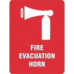 FIRE EVACUATION HORN