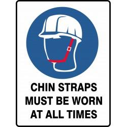 MANDATORY CHIN STRAPS MUST...