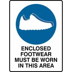 MANDATORY ENCLOSED FOOTWEAR...
