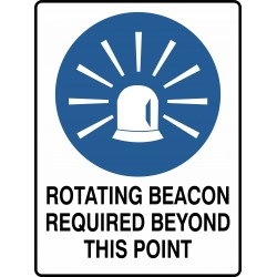MANDATORY ROTATING BEACON...