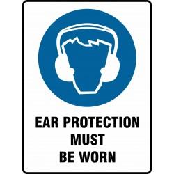 MANDATORY EAR PROTECTION...