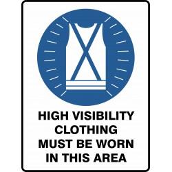 MANDATORY HIGH VISIBILITY...