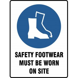 MANDATORY SAFETY FOOTWEAR...
