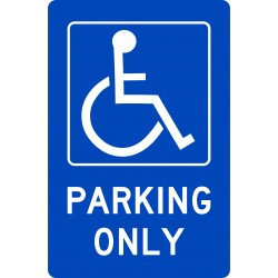ACCESIBLE DISABLED PARKING...
