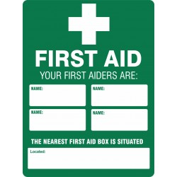 EMERGENCY FIRST AID INFO