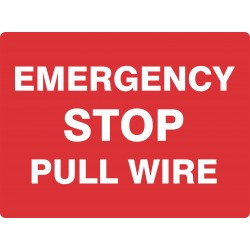 EMERGENCY STOP PULL WIRE