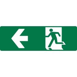 EXIT RUNNING MAN LEFT