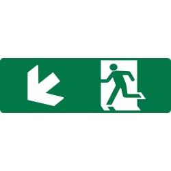 EXIT RUNNING MAN DOWN LEFT