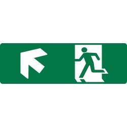 EXIT RUNNING MAN UP LEFT