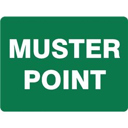 EMERGENCY MUSTER POINT