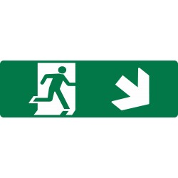 EXIT RUNNING MAN DOWN RIGHT