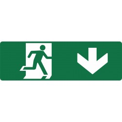 EXIT RUNNING MAN DOWN R