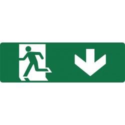 EXIT RUNNING MAN DOWN L