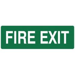 EXIT FIRE EXIT