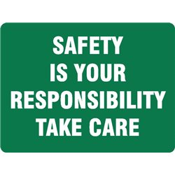 EMERG SAFETY IS YOUR RESPON.