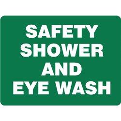 EMERG SAFETY SHOWER AND EYEW