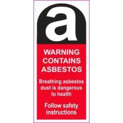 WARNING CONTAINS ASBESTOS
