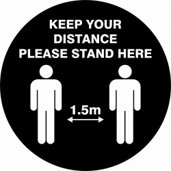 KEEP YOUR DISTANCE PLEASE...