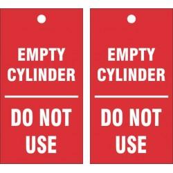 EMPTY CYLINDER TAG