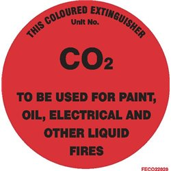FIRE EXTINGUISHER CO2 SQ