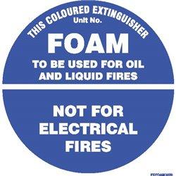 FIRE EXTINGUISHER FOAM SQ