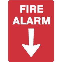 FIRE ALARM WITH ARROW