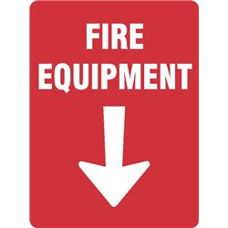 FIRE EQUIPMENT WITH ARROW