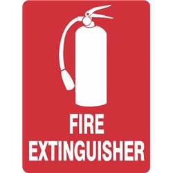 FIRE EXTINGUISHER WITH PICTURE
