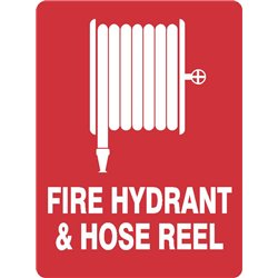 FIRE HYDRANT AND HOSE REEL
