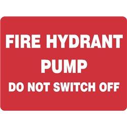 FIRE HYDRANT PUMP