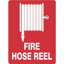 FIRE HOSE REEL WITH PICTURE