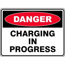DANGER CHARGING IN PROG