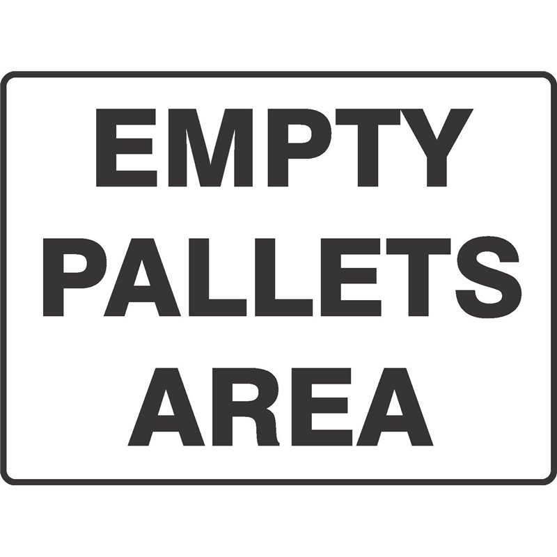 GENERAL EMPTY PALLET AREA