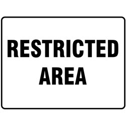 GENERAL RESTRICTED AREA