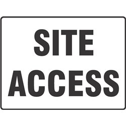 GENERAL SITE ACCESS