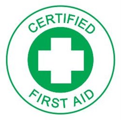 CERTIFIED FIRST AID