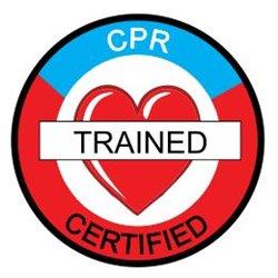 ERT CPR TRAINED CERTIFIED