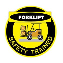 FORKLIFT SAFETY TRAINED