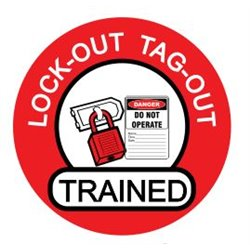 LOCK OUT TAG OUT TRAINED