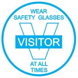 VISITOR WEAR S/GLASSES