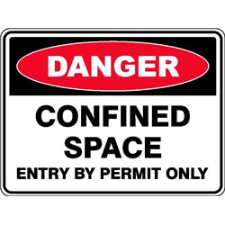 DANGER CON SP ENTRY BY PERMIT