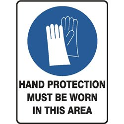 MANDATORY HAND PROTECTION