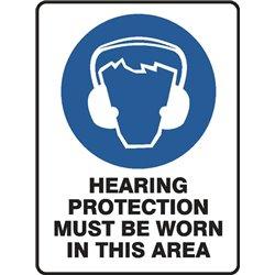 MANDATORY HEARING PROTECTION