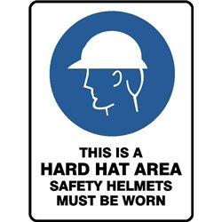 MANDATORY HARD HAT AREA