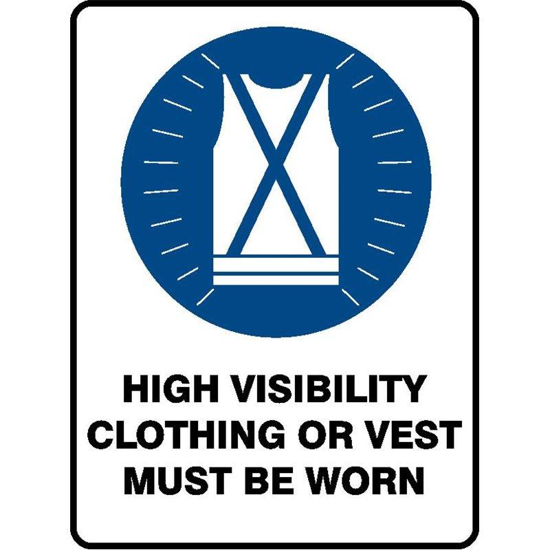 MANDATORY HIGH VIS CLOTHING
